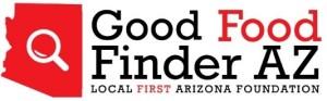 Good Food Finder AZ Logo - Local First